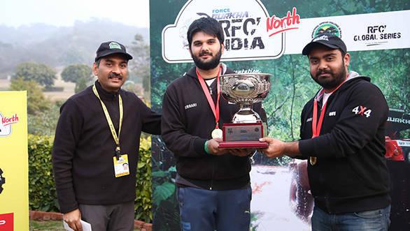 (L-R) Ashish Gupta, Harpreet Singh and Tejinder Pal Singh