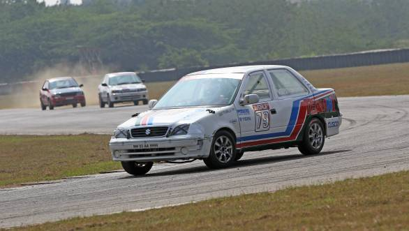 Anant Pithawalla won the second race of the Indian Junior Touring Car Championship