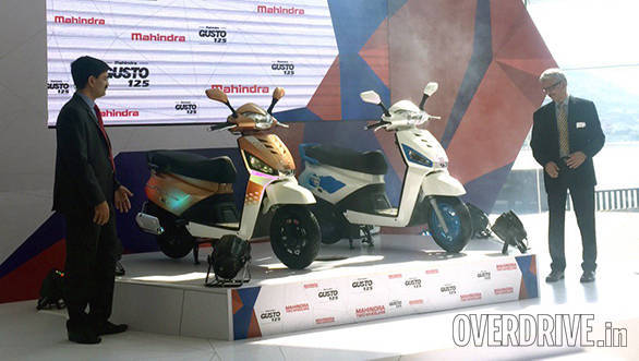 Mahindra Gusto 125 unveiled, to be launched in February 2016
