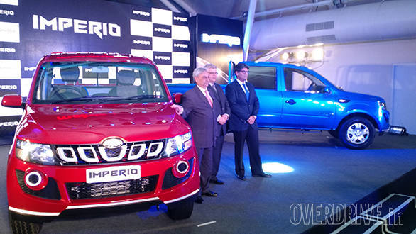 Mahindra launches the Imperio at Rs 6.25 lakh in India