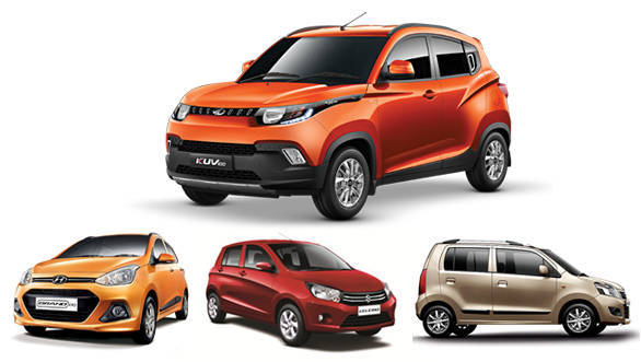 Features comparo: Mahindra KUV100 vs Maruti Wagon R vs Maruti Celerio vs Hyundai Grand i10