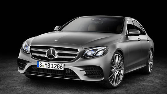 The new E gets a face heavily inspired by the C-Class and S-Class