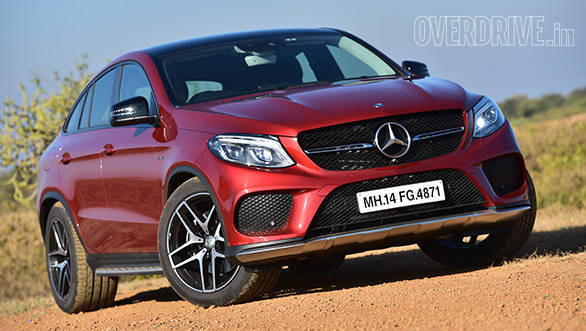 2016 Mercedes Benz GLE 450 AMG Coupe launched in India at Rs 86 4