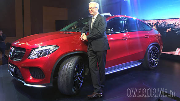 2016 Mercedes-Benz GLE 450 AMG Coupe launched in India at Rs 86.4 lakh -  Overdrive