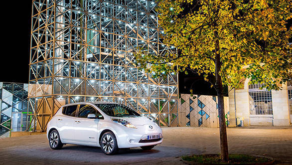 The latest LEAF EV boasts a range of 250km on a single charge