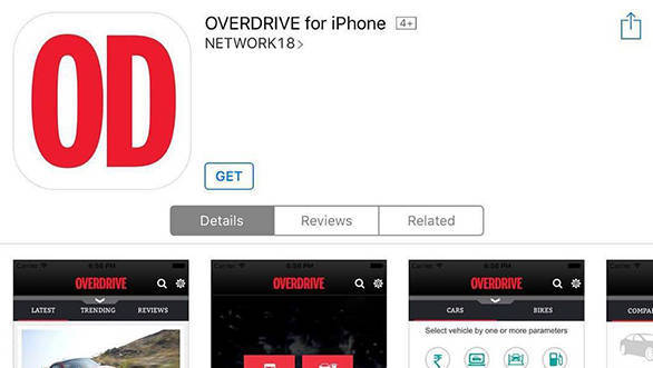 OVERDRIVE mobile app is now live on iOS