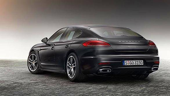Panamera Diesel Edition Gran Turismo with extensive standard features (1)