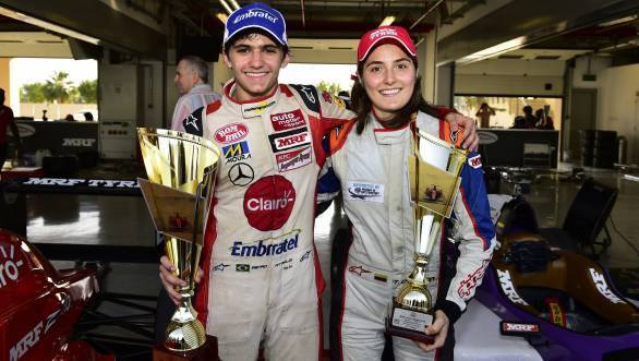 The battle in Chennai boils down to Fittipaldi and Calderon, with Alessio Picariello posing a real threat to both drivers