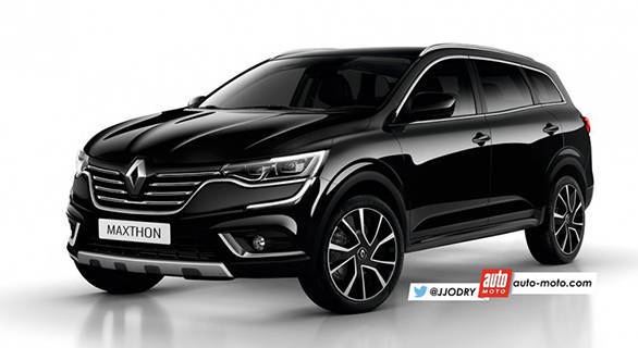 Renault Maxthon likely to be a successor to the Koleos