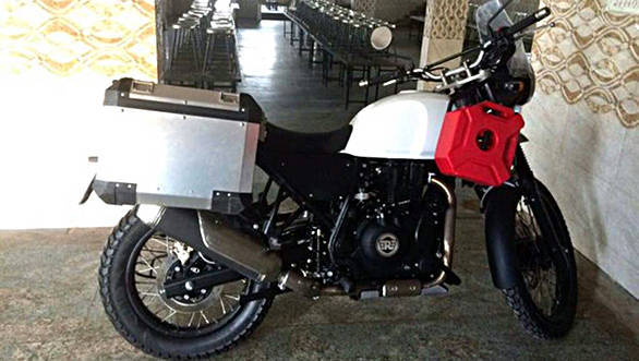 Royal Enfield Himalayan to be showcased in India on February 2, 2016