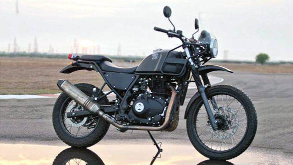 Royal Enfield Himalayan gets ready for debut