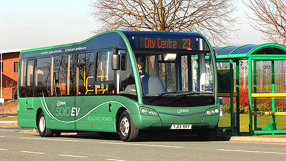 Optare working on EV buses with a range of 320kms