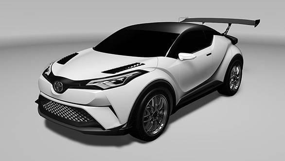 Toyota C HR crossover
