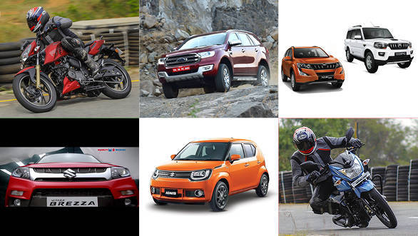 #ODRewind: Ignis specs leaked, TVS Victor and RTR 200 launched, Ford Endeavour launched, Mahindra 1.99-litre XUV500 and Scorpio