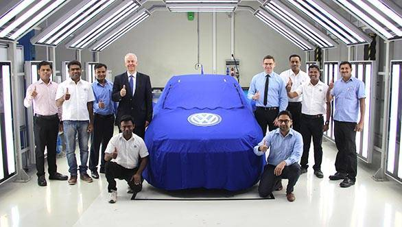 Live webcast: Volkswagen unveils the Ameo compact sedan in India