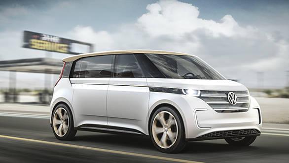 CES 2016: Volkswagen showcases the Budd-e concept