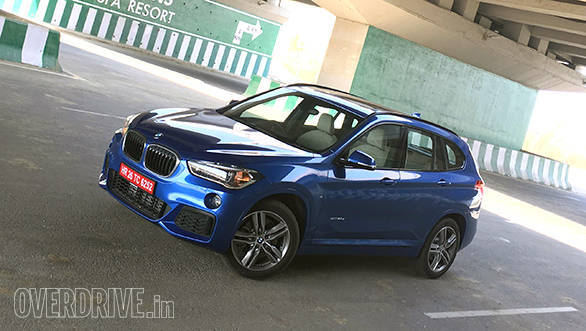 2016 bmw x1 xdrive 20d m sport road test review - overdrive