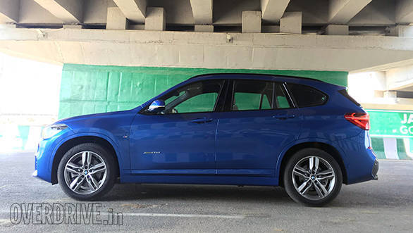 The side profile looks like a longer, sleeker version of the BMW X3