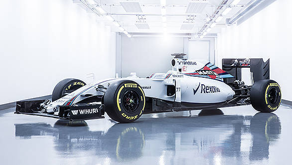 February 2016Williams FW38Photo: Williams F1.Ref: WS8A84791_HDR_Edit