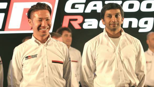 Kamui Kobayashi and Narain Karthikeyan will team up at Team Le Mans in a bid for the 2016 Super Formula title