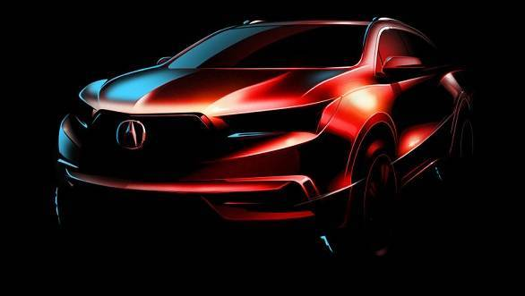 2016 New York Motor Show: 2017 Acura MDX teased
