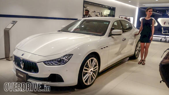 Maserati's Mumbai dealership