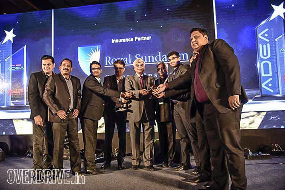Runner up of the commercial vehicle category - Autobahn Trucking Corporation, Kochi
