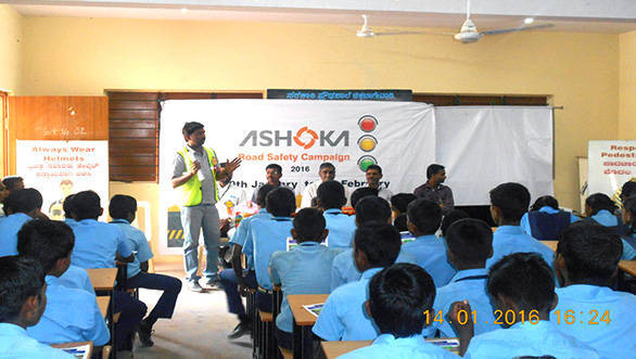 Ashoka Buildcon_School Camp_Road Safety Campaign