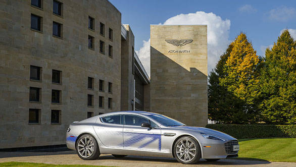 Aston Martin and LeEco collaborate for RapidE electric production model