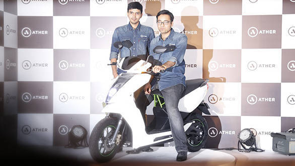 Ather Energy S340 electric scooter unveiled