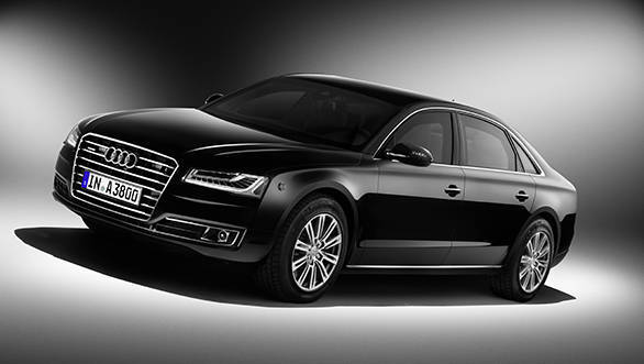 The A8 L Security looks like a standard A8 but meets the highest bullet resistant standards