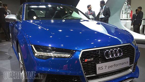 The Audi RS 7