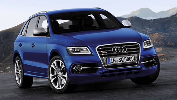 2016 Auto Expo: Audi showcases the SQ5 SUV