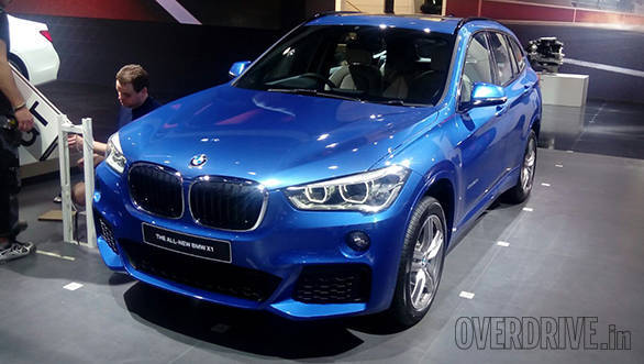 2016 Auto Expo: All-new BMW X1 image gallery