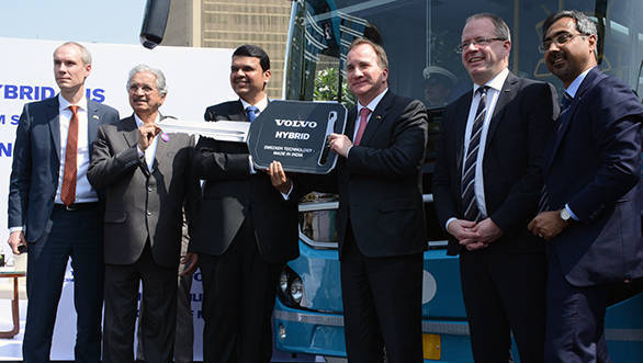 Navi Mumbai to be first Indian city to deploy hybrid Volvo buses