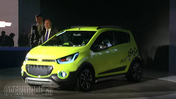 2016 Auto Expo: Chevrolet Beat Activ concept revealed