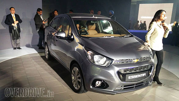 2016 Auto Expo: GM unveils the Chevrolet Essentia