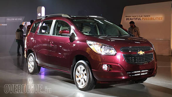 Chevrolet Spin MPV (5)