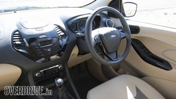 Ford Figo Aspire interiors
