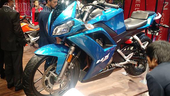 2016 Auto Expo: Hero MotoCorp HX250R showcased