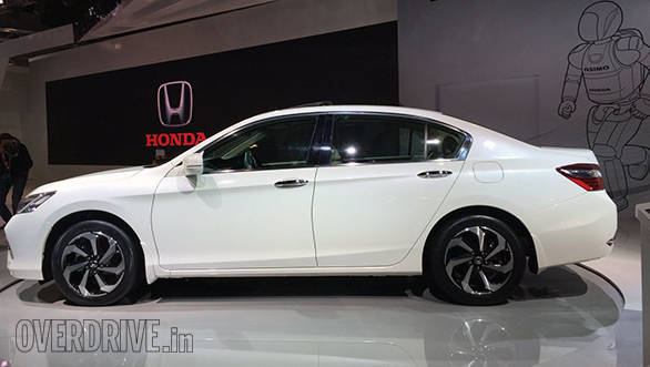 2016 auto expo honda accord hybrid unveiled images overdrive. Black Bedroom Furniture Sets. Home Design Ideas
