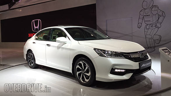 2016 auto expo honda accord and br v unveiled overdrive. Black Bedroom Furniture Sets. Home Design Ideas