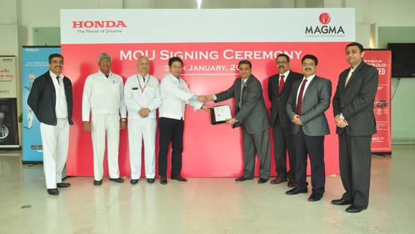Honda Car Magma MOU