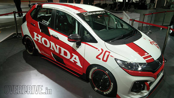 2016 Auto Expo: Honda Jazz racing concept previews a sporty direction