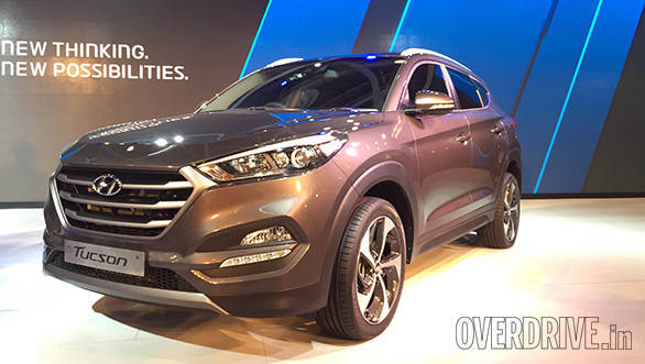 2016 Hyundai Tucson variants in India explained