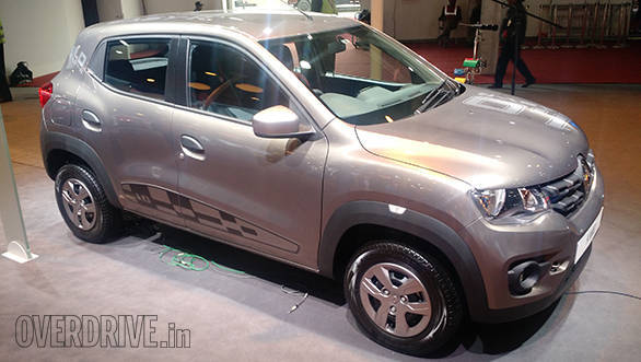 2016 Auto Expo: Renault showcases Kwid 1.0 Sce and Kwid Easy-R