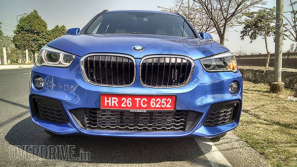 The M Sport kit gives the car an added dose of sporty aggression