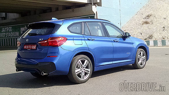2016 bmw x1 xdrive 20d m sport road test review overdrive. Black Bedroom Furniture Sets. Home Design Ideas