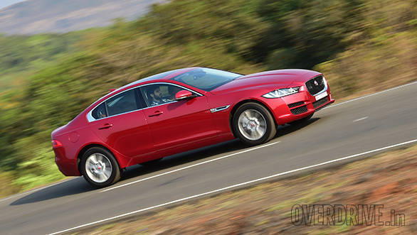 2016 Jaguar XE Portfolio petrol road test review