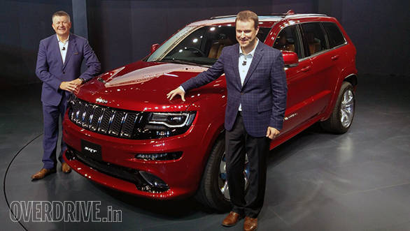2016 Auto Expo: Jeep showcases Wrangler Unlimited and Grand Cherokee SRT